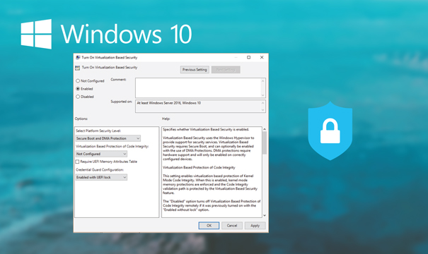 Microsoft Windows Defender Credential Guard