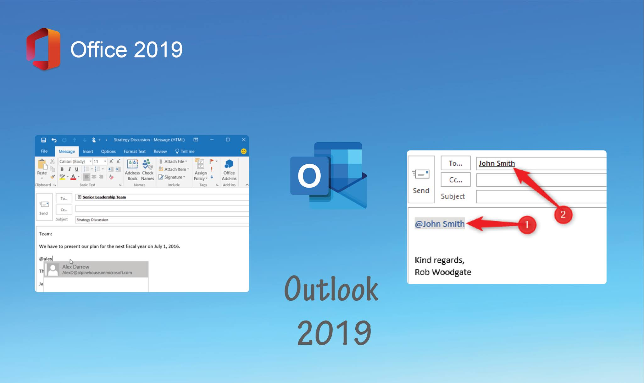 Outlook 2019