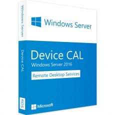 Windows Server 2016 RDS - Device CALs, Client Access Licenses: 1 CAL, image