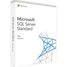 SQL Server 2019 Standard - User CALs, Client Access Licenses: 1 CAL, image