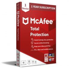 McAfee Total Protection 2021 - 1 Jahr Lizenz, image